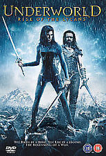 Underworld Rise of the Lycans DVD Rhona Mitra Bill Nighy UK Release New Sealed