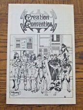 1982 Creation Entertainment Convention Program CAROLINE MUNRO Sci-Fi Comic Art