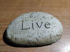 """Live"" Paperweight/Pet Rock"