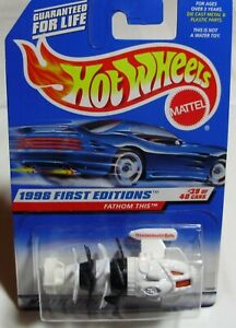Hot Wheels – Fathom This™ - 1998 First Editions™ - DieCast – White