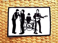 The Beatles New Embroidered Sew Iron On Patch Abbey Road Rock pop Band Music DIY