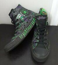 Converse All Star DC Comics The Joker High Top Sneakers Mens 7 Womens 8