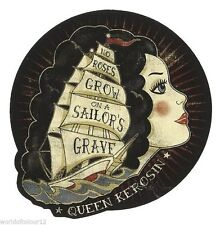 King Kérosène sailor's gravf Autocollant/autocollant/tatouage/rockabilly/old school/rétro