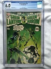 Green Lantern #76 CGC 6.0 OW/WP Neal Adams KEY Cover First With Green Arrow 1970