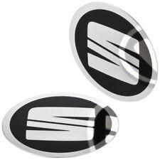 4 SEAT Nabendeckel Felgen Aufkleber 64 mm Alufelgen Emblem Logo Felgenaufkleber