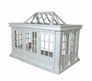 1/12 Streets Ahead Dolls House Deluxe Conservatory Painted & Assembled DH530