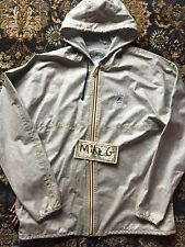 "Marc Jacobs x K-Way ""Claude"" packable rain jacket worn sz S"