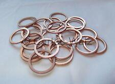 100 PIÈCES anneaux de cuivre bagues d'étanchéité Joints Cu 24x30x2,0 mm DIN 7603