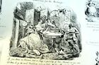 The ART of TORMENTING No 5 HENRY HEATH CARICATURE PRINT  1840 Victorian