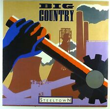 """12"""" LP - Big Country - Steeltown - M796 - washed & cleaned"""