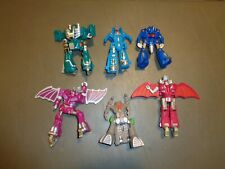 6 - Bandai Tonka Transformers Go Bots Monsterous Combiner Complete Team 1986