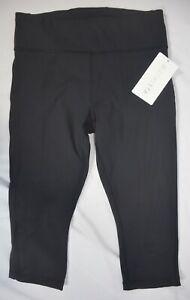 lNWT $79 Athleta Size S & MP Black Ultimate Stash Pocket Crop Pant Pants #531268