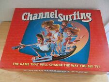 1994 Milton Bradley CHANNEL SURFING Prime Time TV Party Board Card Game