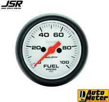 94-04 Mustang Autometer Electric Phantom 2in Fuel Pressure Gauge 0-100 PSI
