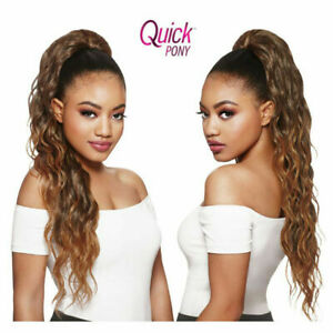 Outre Quick Ponytail Drawstring Hair Extension Hairpieces Long Curly - Paloma