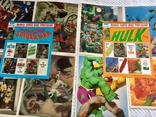 Marvel Super Hero Portfolios  Spider-Man And Hulk Sets  (1980) Fastner/Larson
