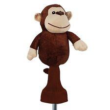 Golf Head Cover Monkey Animal 460cc Driver Wood Sporting Goods Plush Headcover