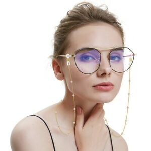 Beautifully Pearl Glasses Chain For Women Sunglasses Chain Reading Glasses Chain