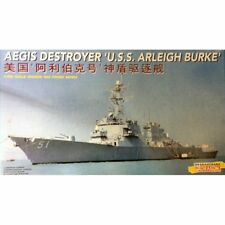 Dragon 7029 USS Arleigh Burke AEGIS Destroyer 1/700 scale plastic model kit