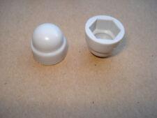 Lot de 10 cache vis gris clair RAL 7035 pvc pour écrou M8 pour cle de 13mm