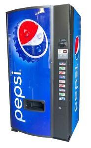 Dixie Narco 501E Pepsi Soda Vending Machine Cans & Bottles MDB FREE SHIPPING
