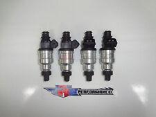 TRE Flowmatched 1200cc High Denso Fuel Injectors 4G63T EVO VIII IX X FC3S 13B 4