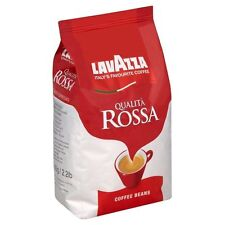 LAVAZZA Qualità Rossa Chicchi Di Caffè 1kg Medio Arrostire MADE IN ITALY