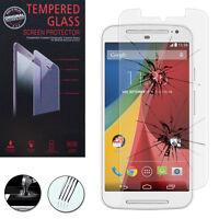 1 Film Verre Trempe Protecteur Protection Motorola Moto G2 II 2014 (2nd gen)