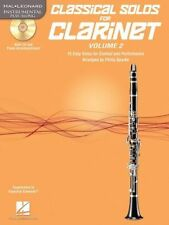 Clarinet Classical Contemporary Sheet Music & Song Books