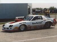 LEE SHEPERD CAMERO PRO STOCK 8X12     DRAG RACING PHOTO
