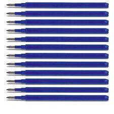 12 x Pilot Frixion Ball Tintenroller - Ersatzminen Minen blau