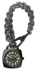New Dakota Watch Paracord Clip Paracord Clip with Black & White Paracord Strap