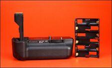 Cámara SLR Canon BG-E4 Battery Grip para Canon EOS 5D D + Bandeja de batería AA.
