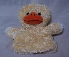"CUTE SOFT DUCK HAND PUPPET 8"" Plush STUFFED ANIMAL Toy"