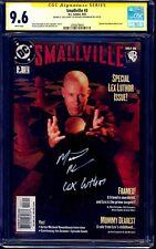 Smallville #3 LEX PHOTO COVER CGC SS 9.6 signed Michael Rosenbaum NM+ CW