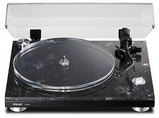 teac tn-550 plattenspieler/140 patrone/schutzumschlag marmor/mdf-sockel tn550 100-240v