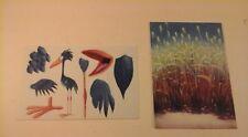 Disney - Pixar Animation Studios - Postcard lot of 2 - FOR THE BIRDS Concept art