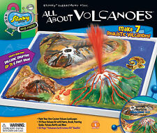ALL ABOUT VOLCANOES - MAKE YOUR OWN SLINKY SCIENCE EXPERIMENT & ACTIVITY KIT