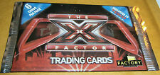 THE X FACTOR (2010) TRADING CARDS - 1 X BOOSTER PACK  - NEW AND SEALED