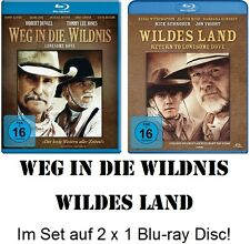 Weg in die Wildnis + Wildes Land (Lonesome Dove 1+2) Blu-ray Disc NEU + OVP!
