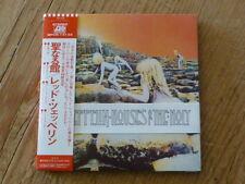 Led Zeppelin: Houses Holy SHM CD Japan Mini-LP WPCR-13134 Mint (jimmy page Q