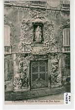 POSTAL VALENCIA. Portada del Palacio de Dos Aguas. Ref:00517
