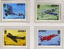 Jersey 1975 Royal Air Force SG 133-136 MNH