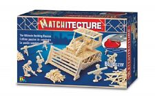 Matchitecture 6640 Bulldozer Matchstick Model Kit - FREE Tracked 48 Post