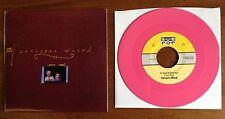 "CARISSAS WIERD 7"" NM HOT Pink VINYL 1st Edition Limited Modest Mouse Morissey 45"