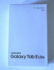 Samsung Galaxy Tab E Lite SM-T113 8GB, Wi-Fi, 7in - White