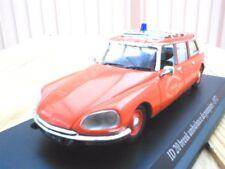 """CITROÊN  ID 20 """"ambulance pompiers""""  1972 1/43ème neuve"""