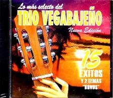 """Trio Vegabajeño - """" 15 Exitos y dos temas """"Bonus"""" - CD / Trio Vegabano - CD"""