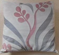M&S Suede Leather 'Cut-Away' Design Cushion