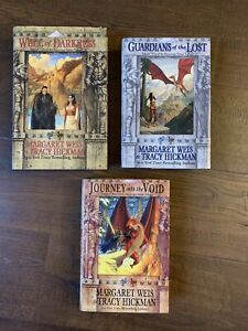 The Sovereign Stone Trilogy - Margaret Weis Tracy Hickman Vol 1-3 HCDJ